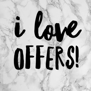 Other - Offers are always welcome !